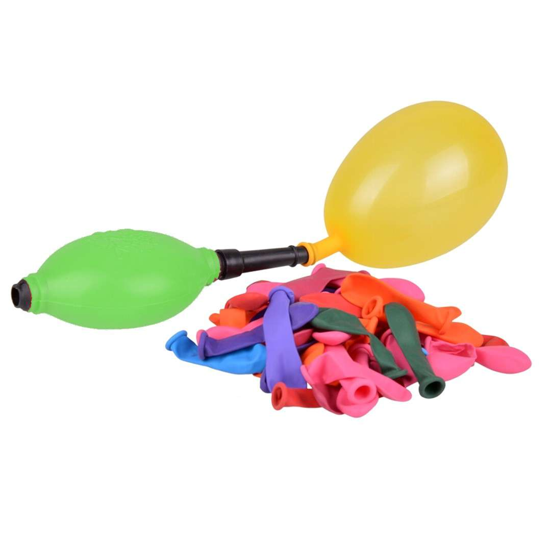 """Balony """"Bomby wodne z pompką"""", zielona, Arpex, 45 szt."""