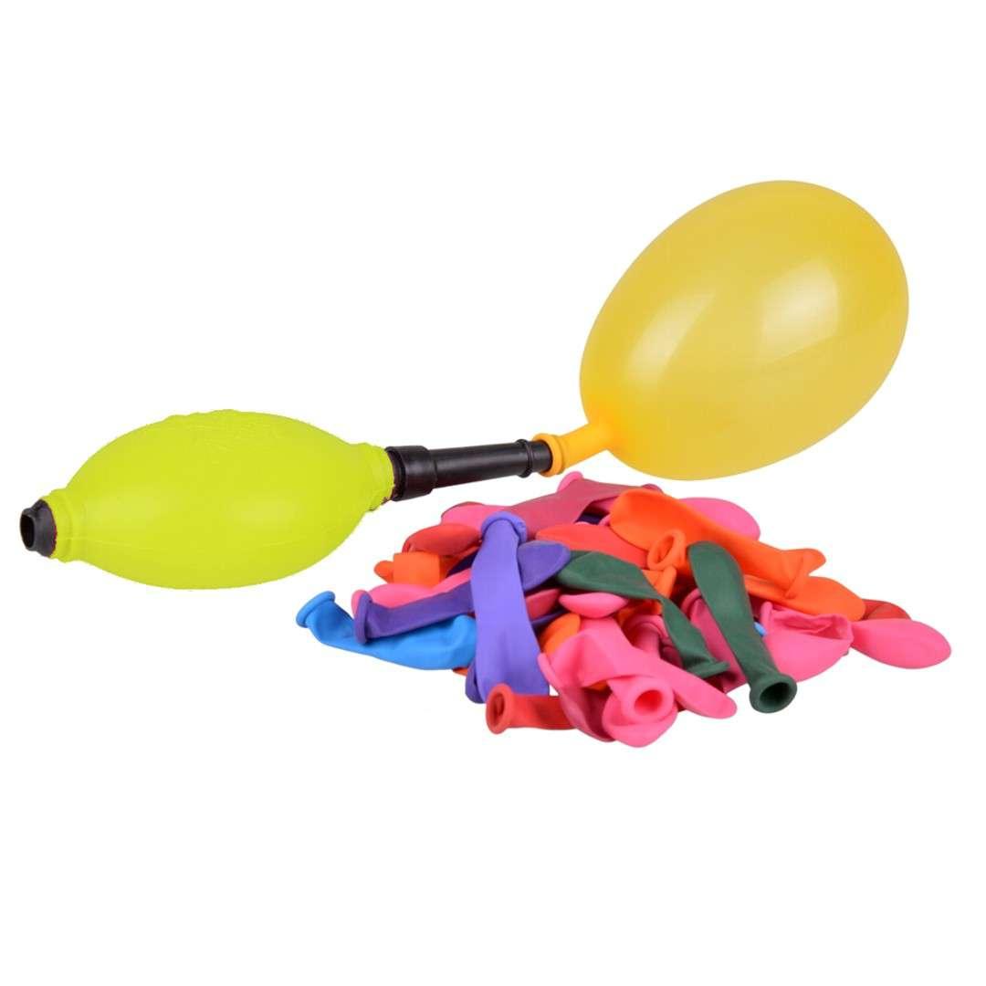 """Balony """"Bomby wodne z pompką"""", żółta, Arpex, 45 szt."""