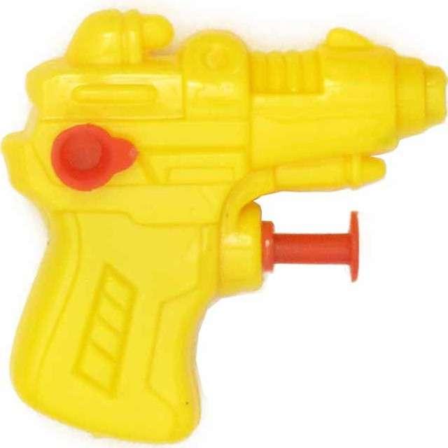 "Psikawka ""Mini pistolet"", żółty, Arpex, 6,5 cm"