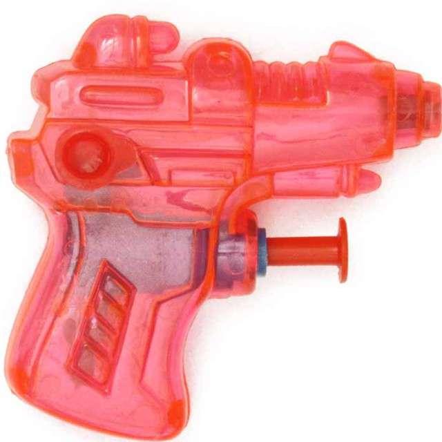 Psikawka Mini pistolet czerwony transparent Arpex 65 cm