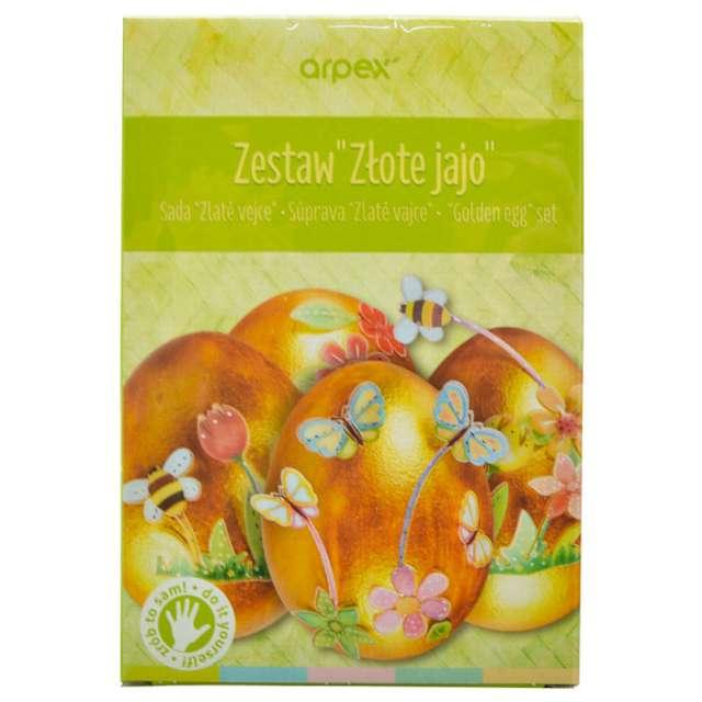 """Zestaw do zdobienia jajek """"Złote jajo"""", Arpex"""