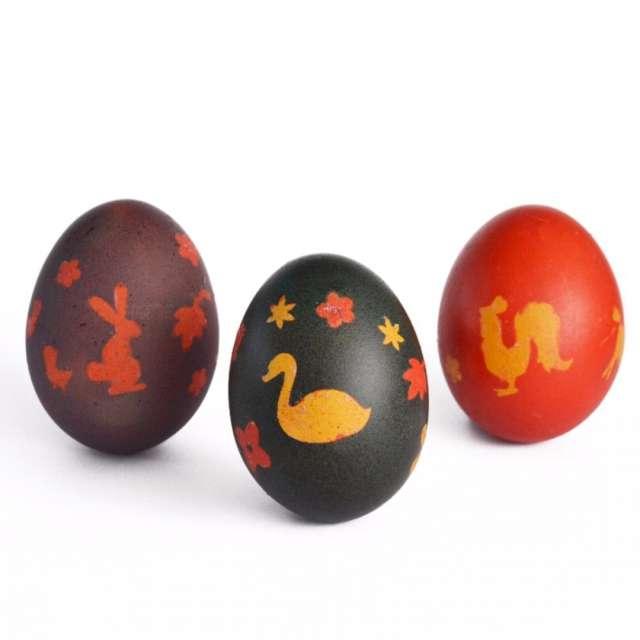 Zestaw do zdobienia jajek Barwniki + naklejki Arpex