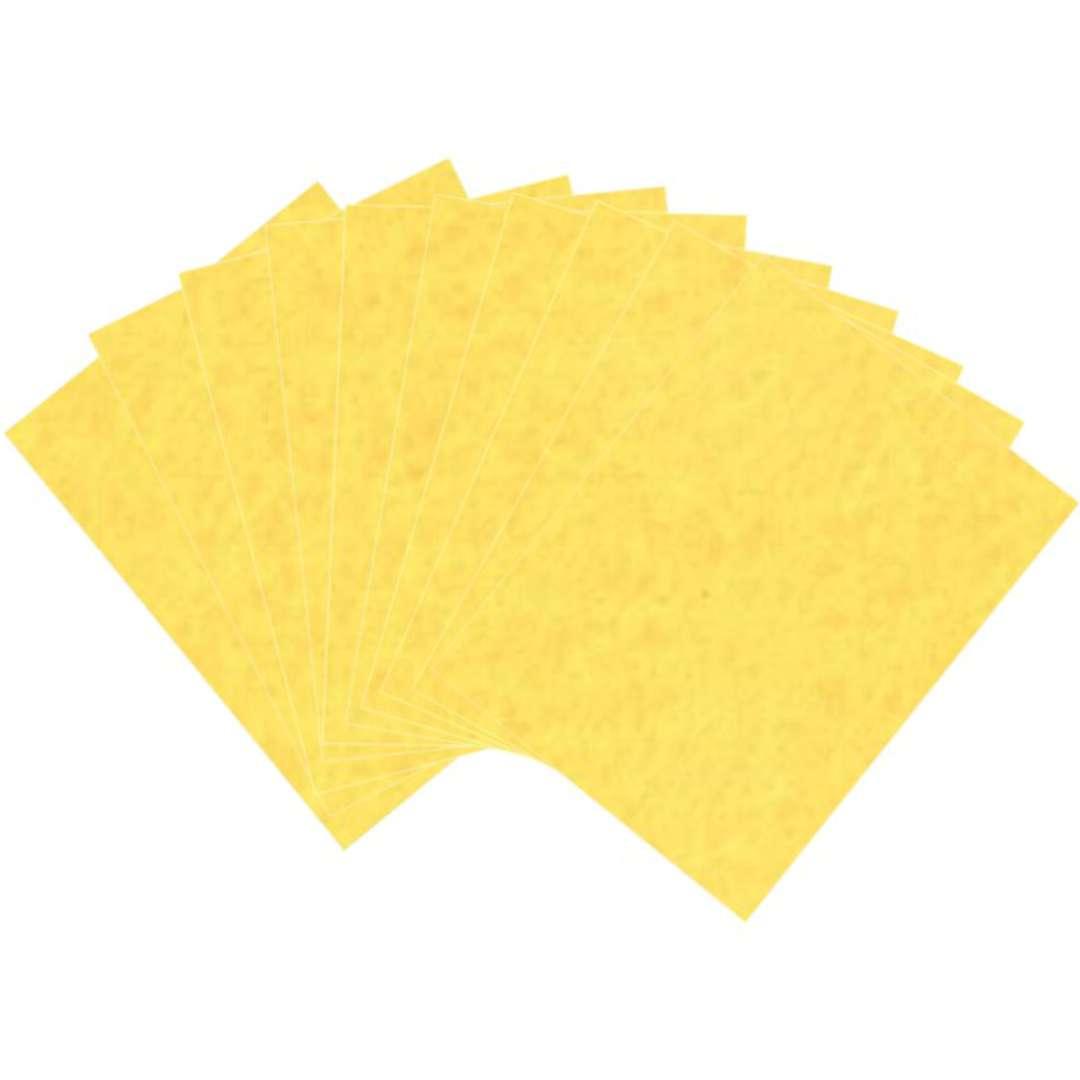 """Arkusze filcowe A4 """"Kolor żółty"""", Aliga, 10 szt."""