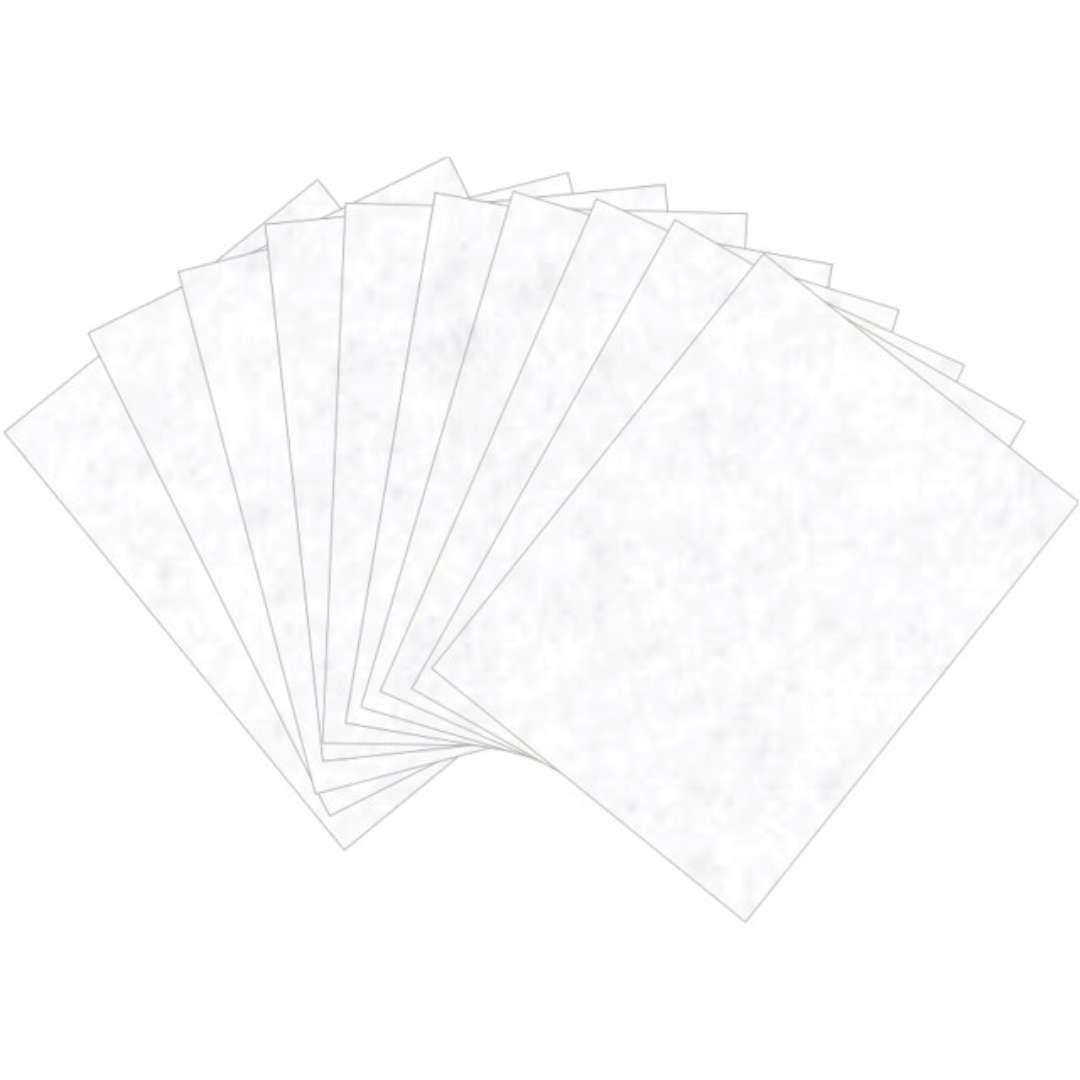 """Arkusze filcowe A4 """"Kolor biały"""", Aliga, 10 szt."""