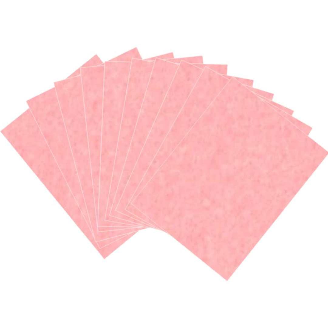 Arkusze filcowe A4 Kolor różowy Aliga 10szt.