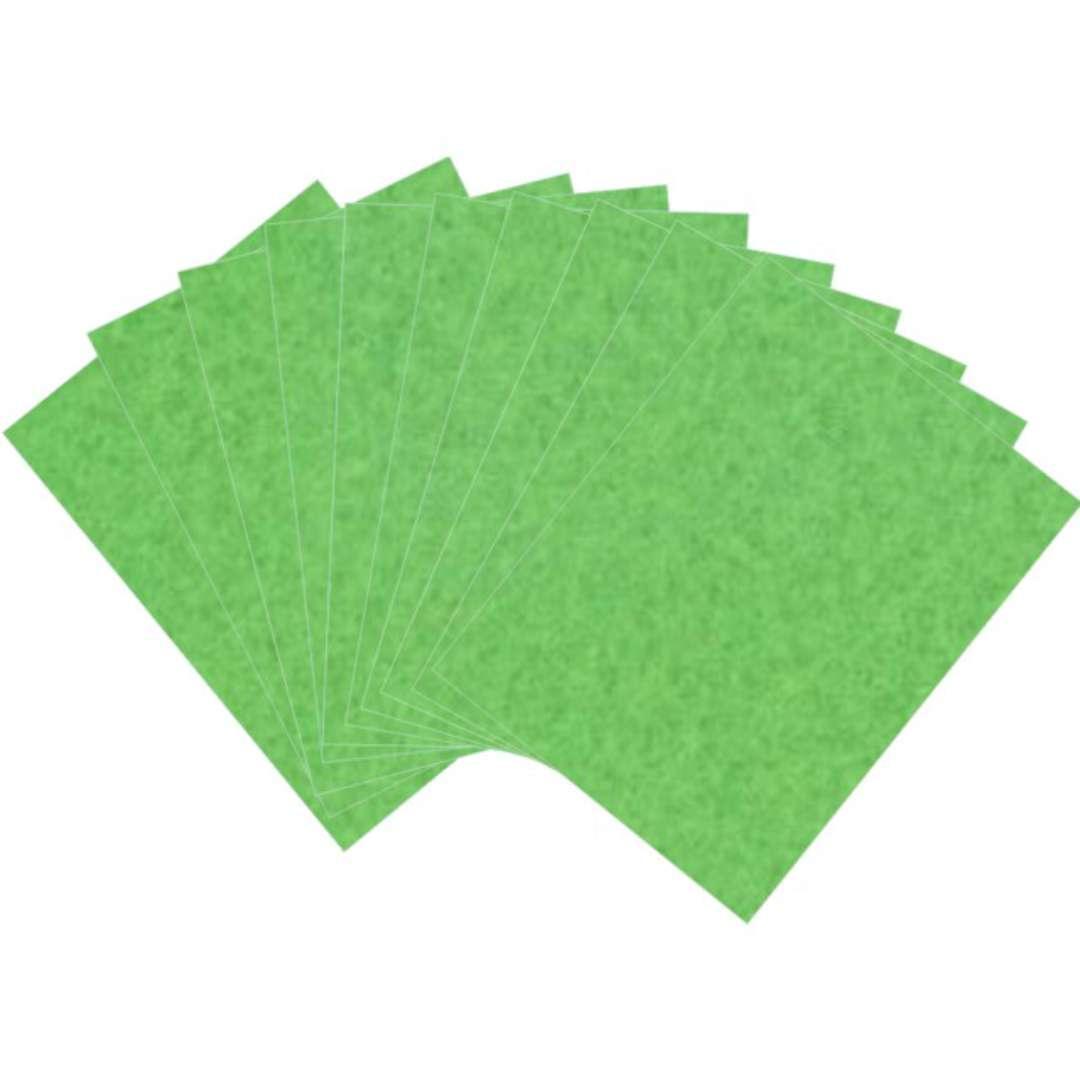 """Arkusze filcowe A4 """"Kolor zielony"""", Aliga, 10 szt."""