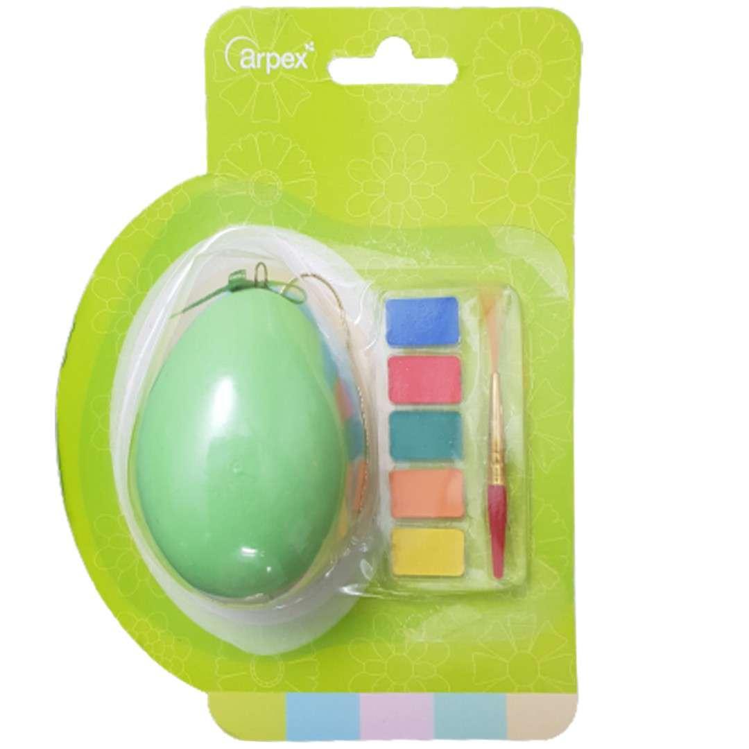 Zestaw kreatywny Jajko z farbkami zielone Arpex
