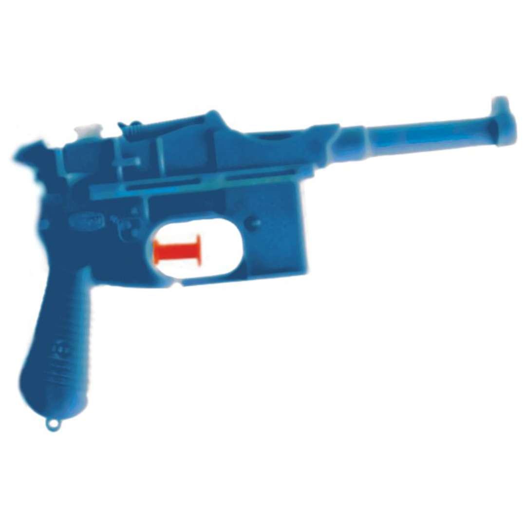"Psikawka ""Niemiecki pistolet"", niebieski, Arpex, 17cm"