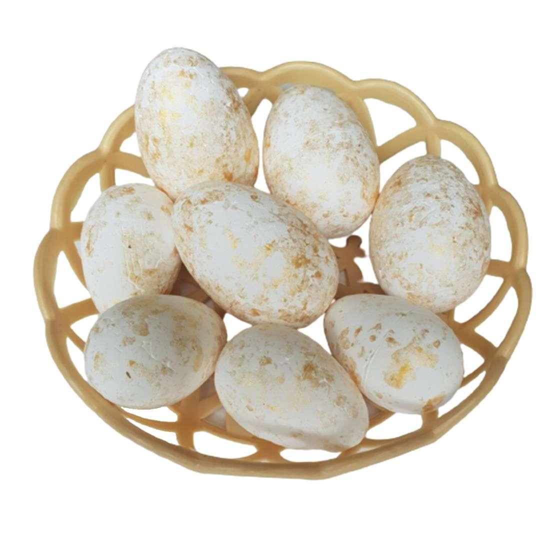"""Jajka """"Pisanki pozłacane"""", Arpex, 5,5 cm, 8 szt."""