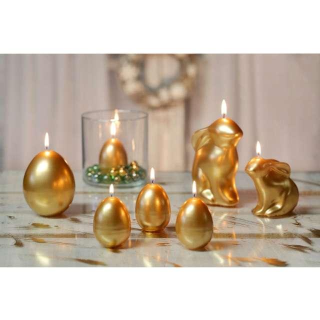 Świeca Wielkanoc - Jajko złota Bartek-Candles 45/60 mm