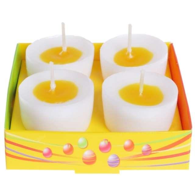 """Świeca """"Wielkanoc - połówka jajka"""", Bartek Candles, 4 szt."""
