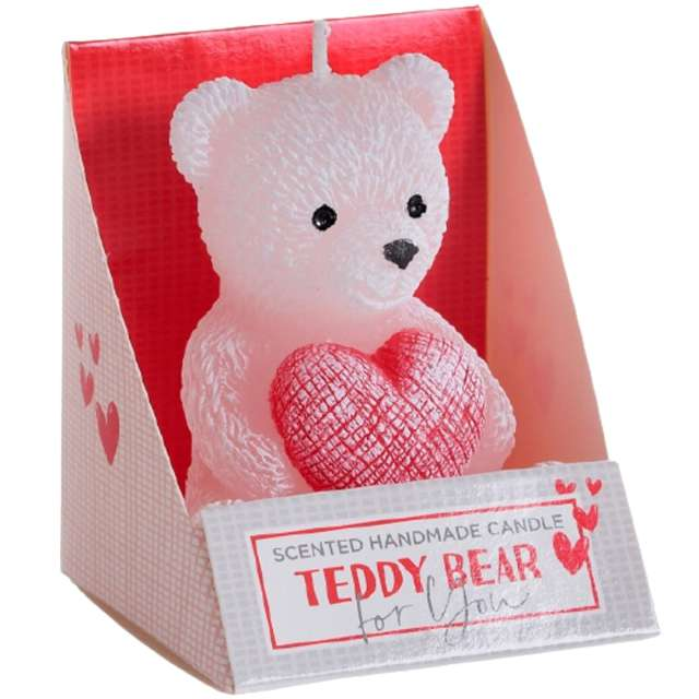 _xx_Teddy Bear Figure 75 mix - white