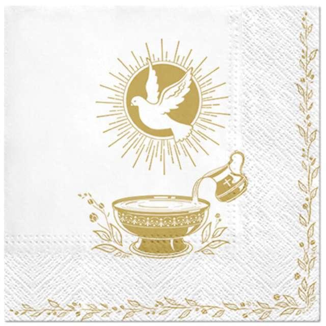 _xx_BAPTISM BLESSING lunch napkin 33 x 33 cm