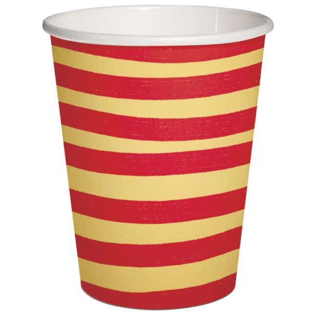 _xx_BRUSH STROKES - beige-red paper cup 025 l