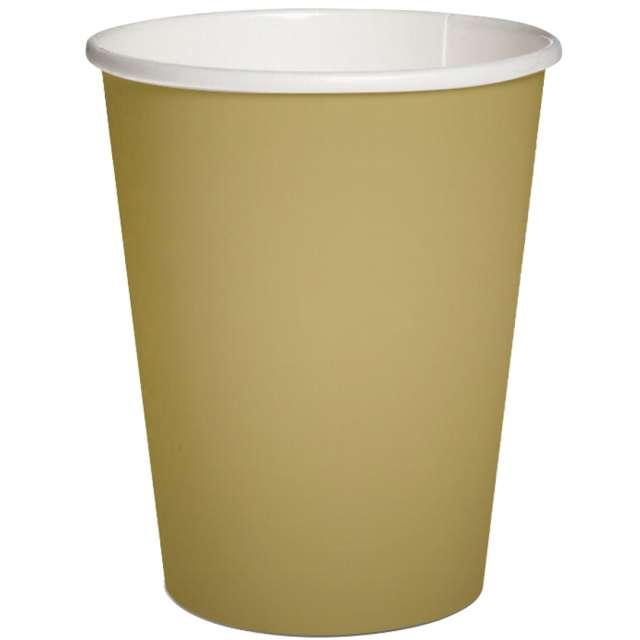 Kubeczki papierowe Classic złote PAW 250 ml 10szt