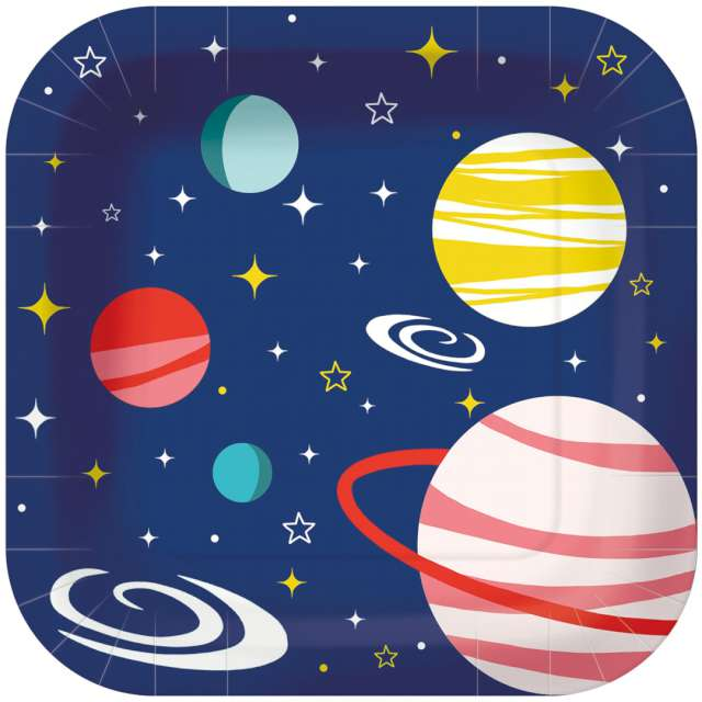 _xx_SPACE paper plate 23 x 23 cm