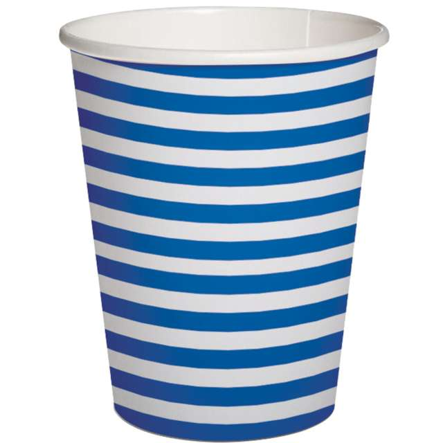_xx_STRIPES - dark blue paper cup 025 l