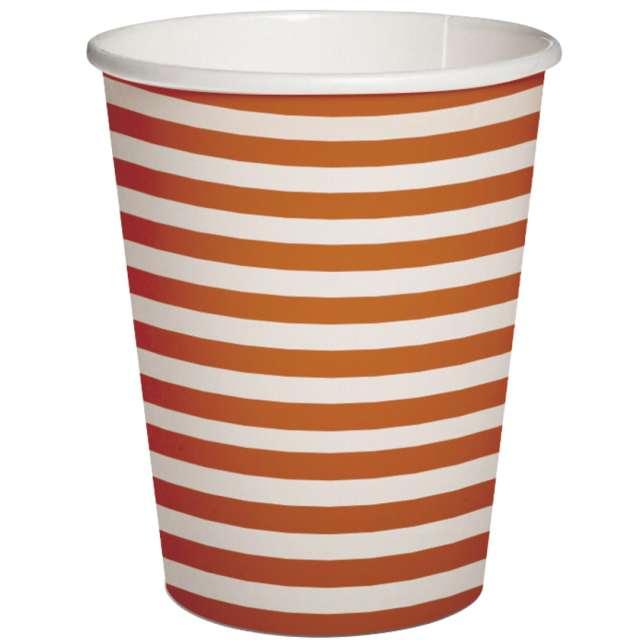_xx_STRIPES - orange paper cup 025 l