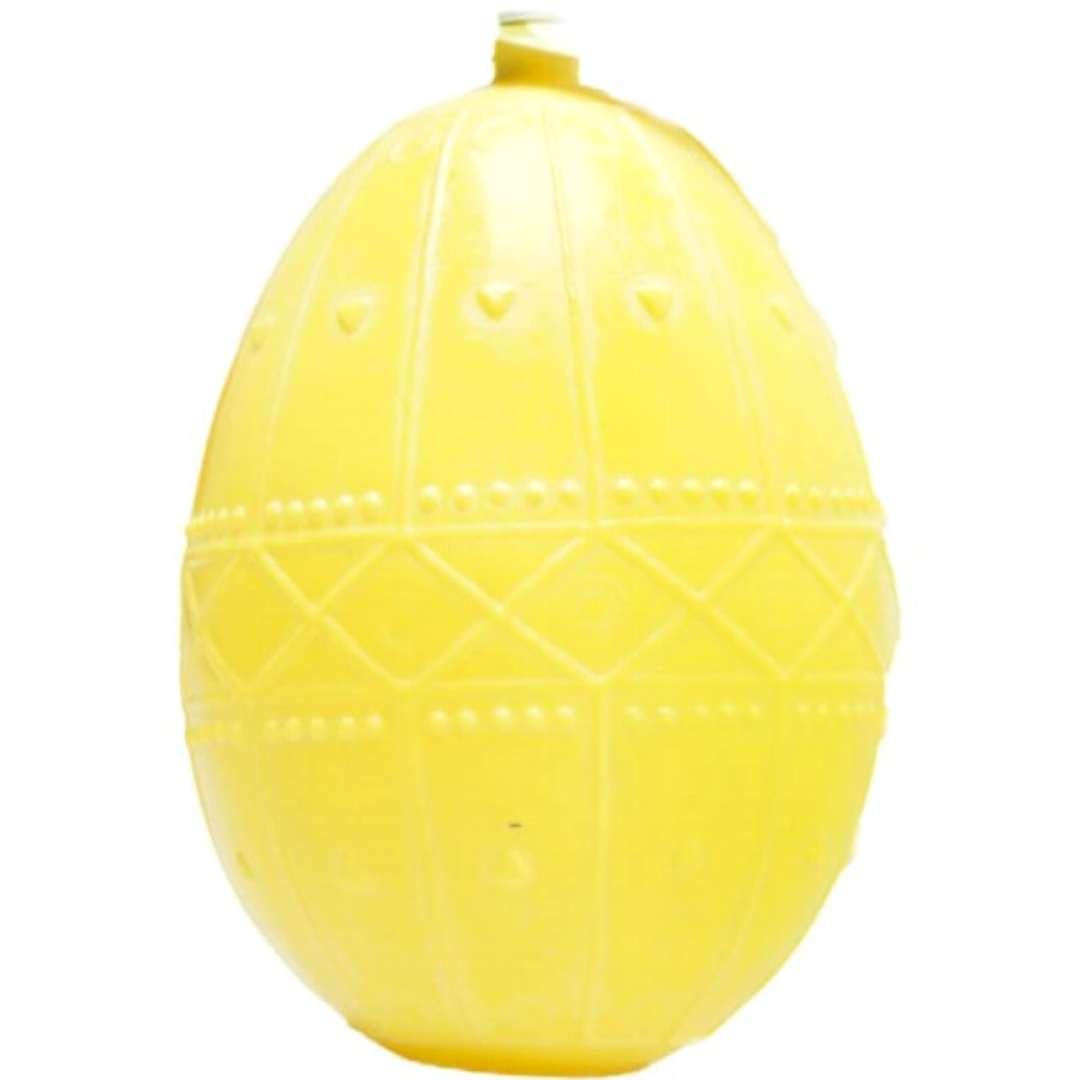 """Psikawka """"Jajo wielkanocne XXL"""", żółta, Arpex, 16cm"""