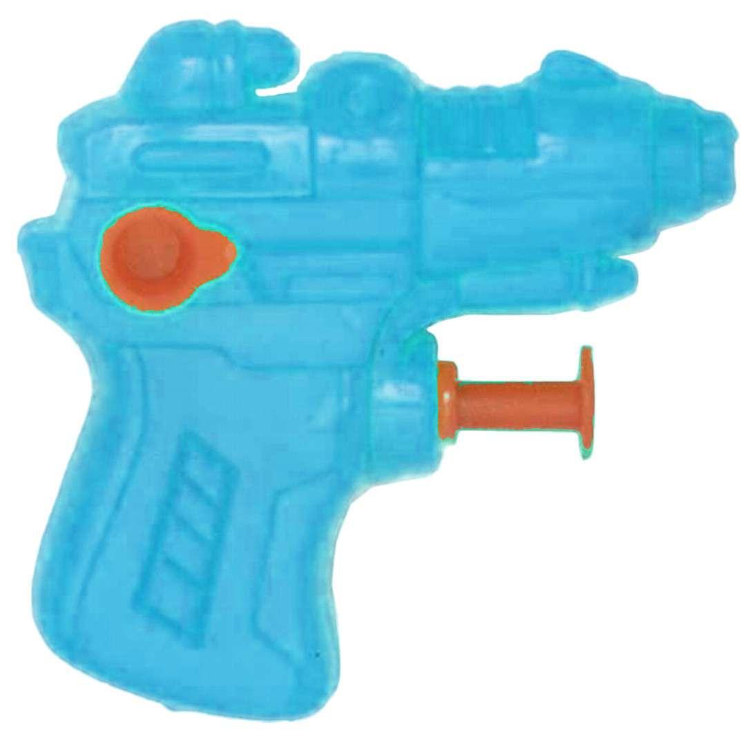 """Psikawka """"Mini pistolet"""", niebieski, Arpex, 6,5 cm"""