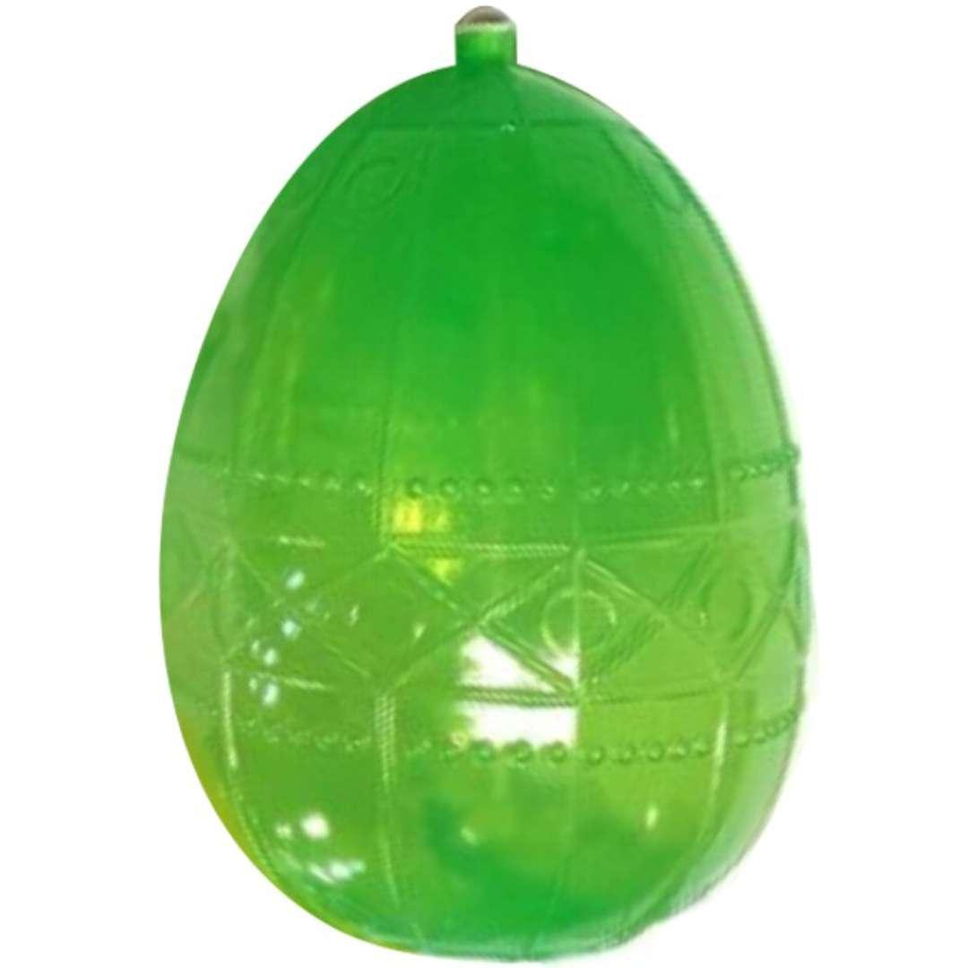 """Psikawka """"Jajo wielkanocne XXL"""", zielona, Arpex, 16cm"""