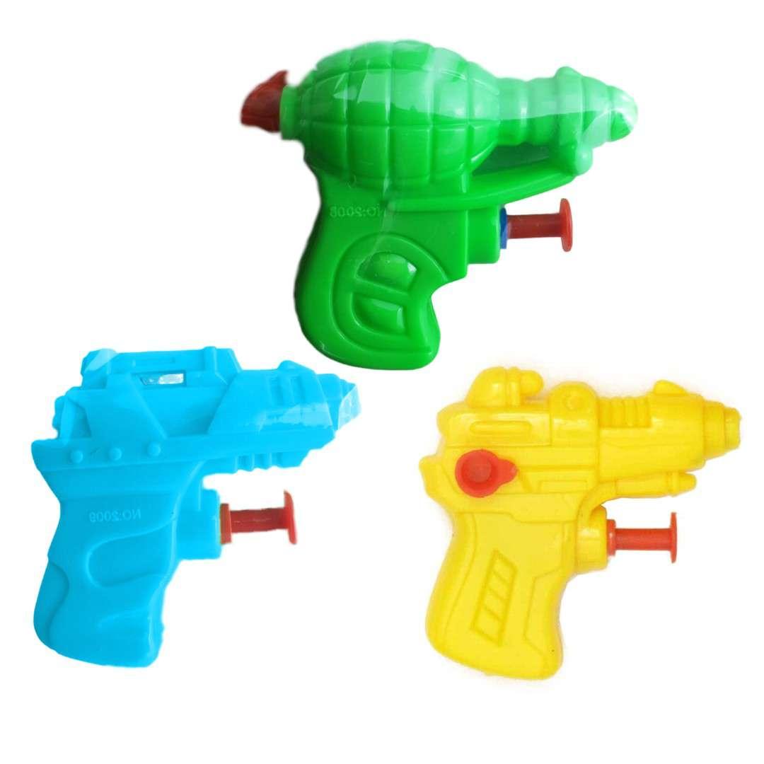 Psikawka Mini pistolet żółty transparent Arpex 65 cm