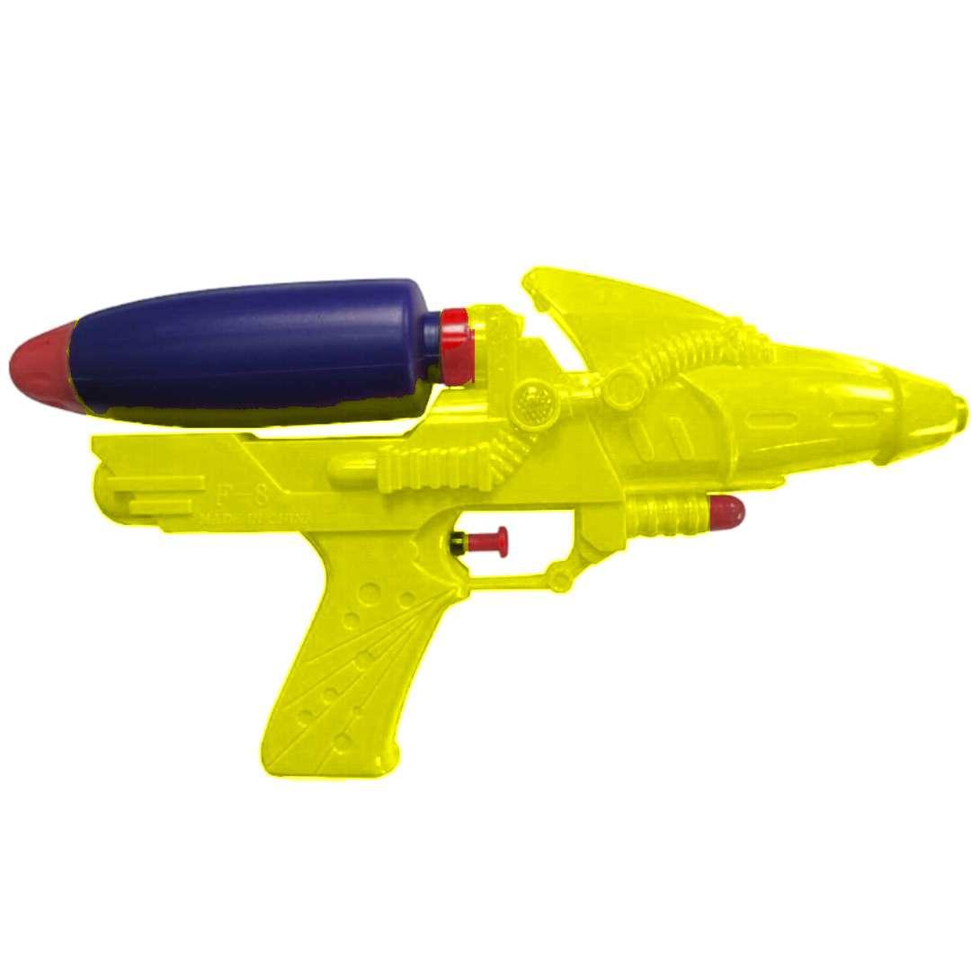 """Psikawka """"Galaktyczny pistolet XL"""", żółty, Arpex, 26,5cm"""