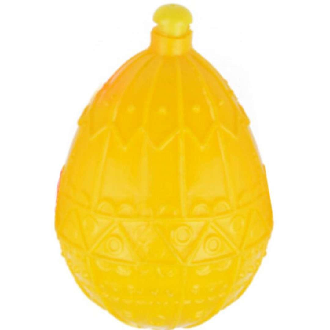 "Psikawka ""Jajo wielkanocne"", żółta, Arpex, 4cm"