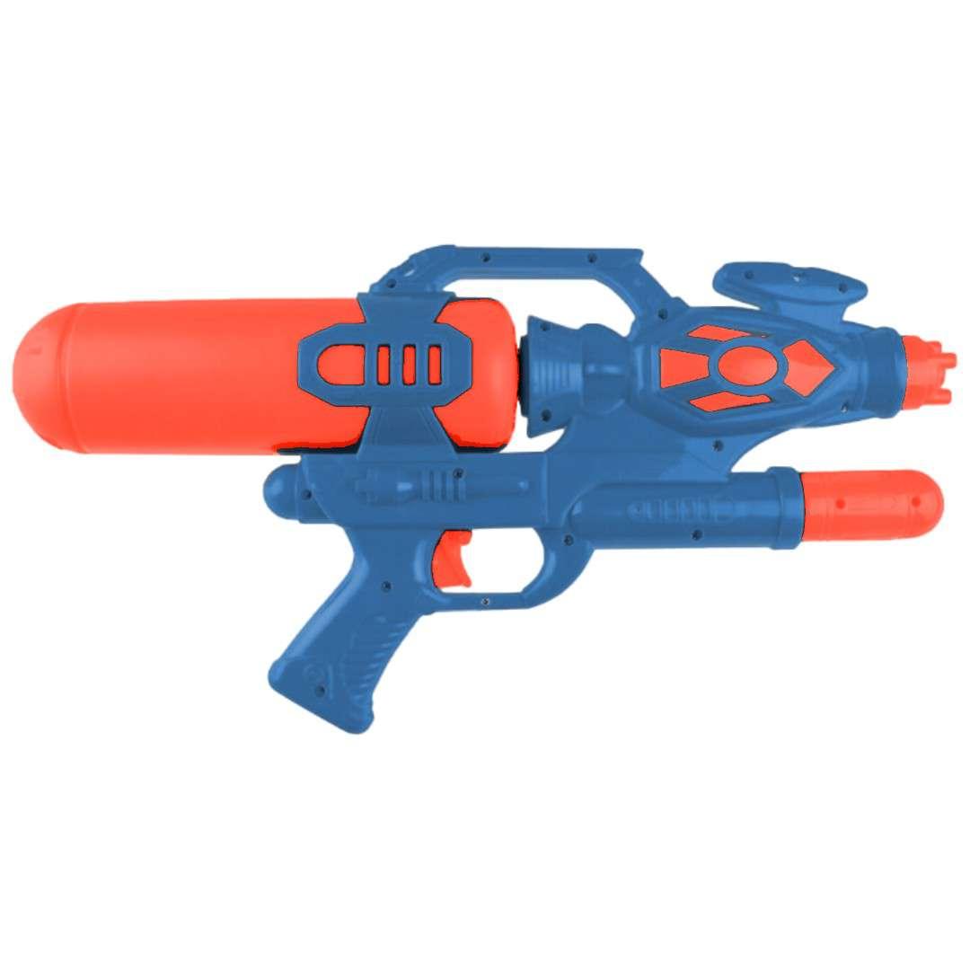Psikawka Nieziemski pistolet XXL granatowo-czerwony Arpex 41cm
