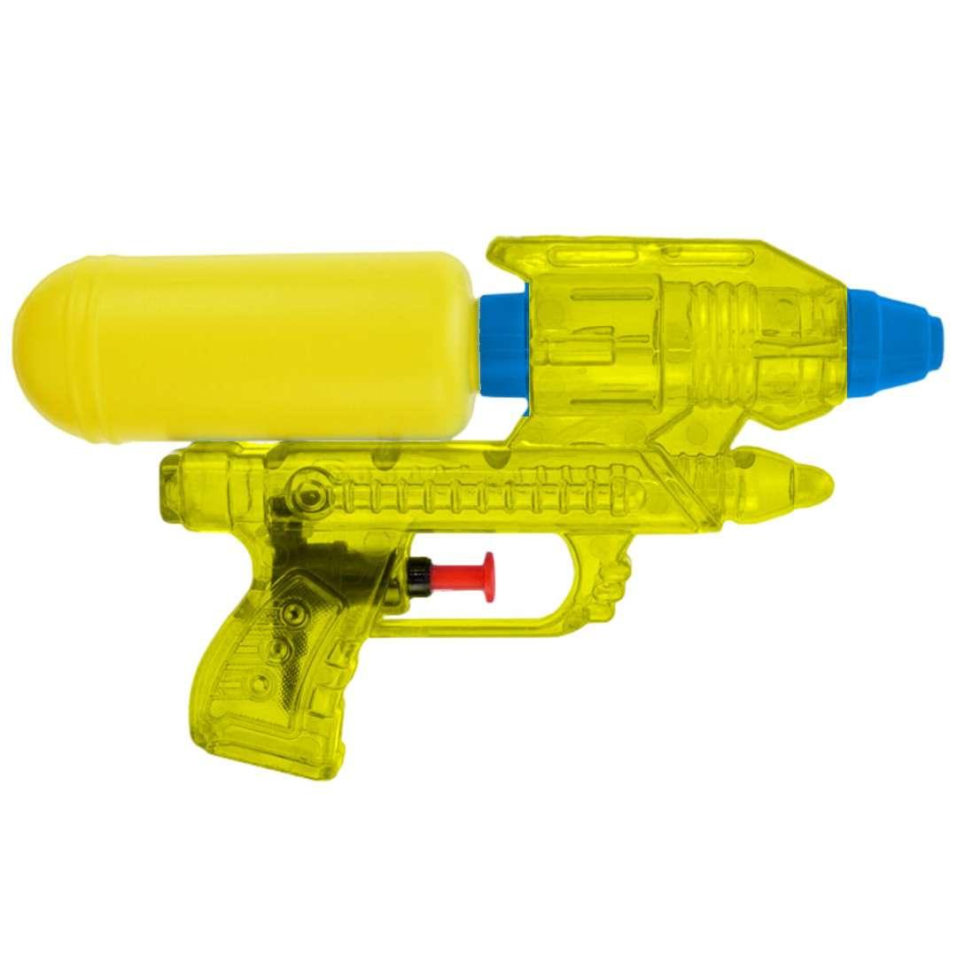 """Psikawka """"Galaktyczny pistolet"""", żółty, Arpex, 17cm"""