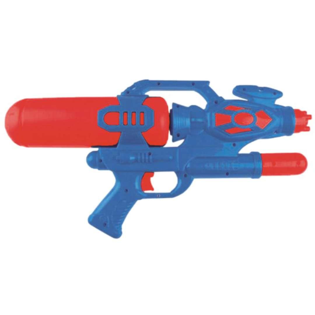 """Psikawka """"Nieziemski pistolet XXL"""", granatowo-czerwony, Arpex, 41cm"""