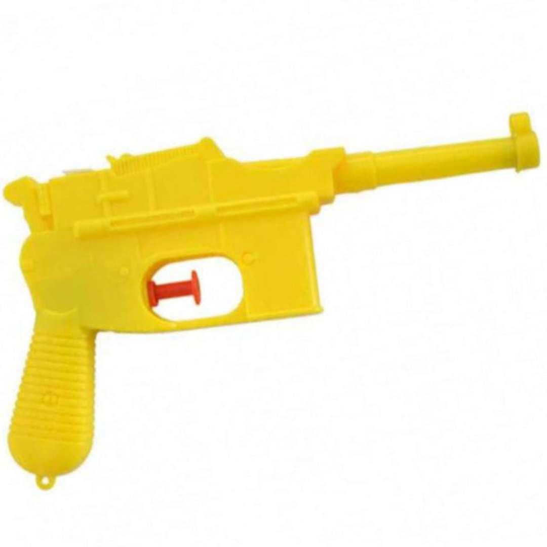 """Psikawka """"Niemiecki pistolet"""", żółty, Arpex, 17cm"""