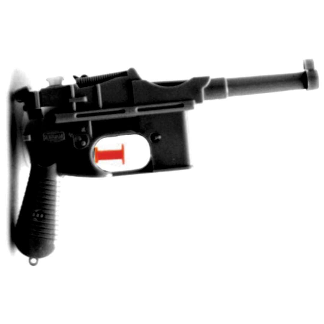 Psikawka Niemiecki pistolet czarny Arpex 17cm