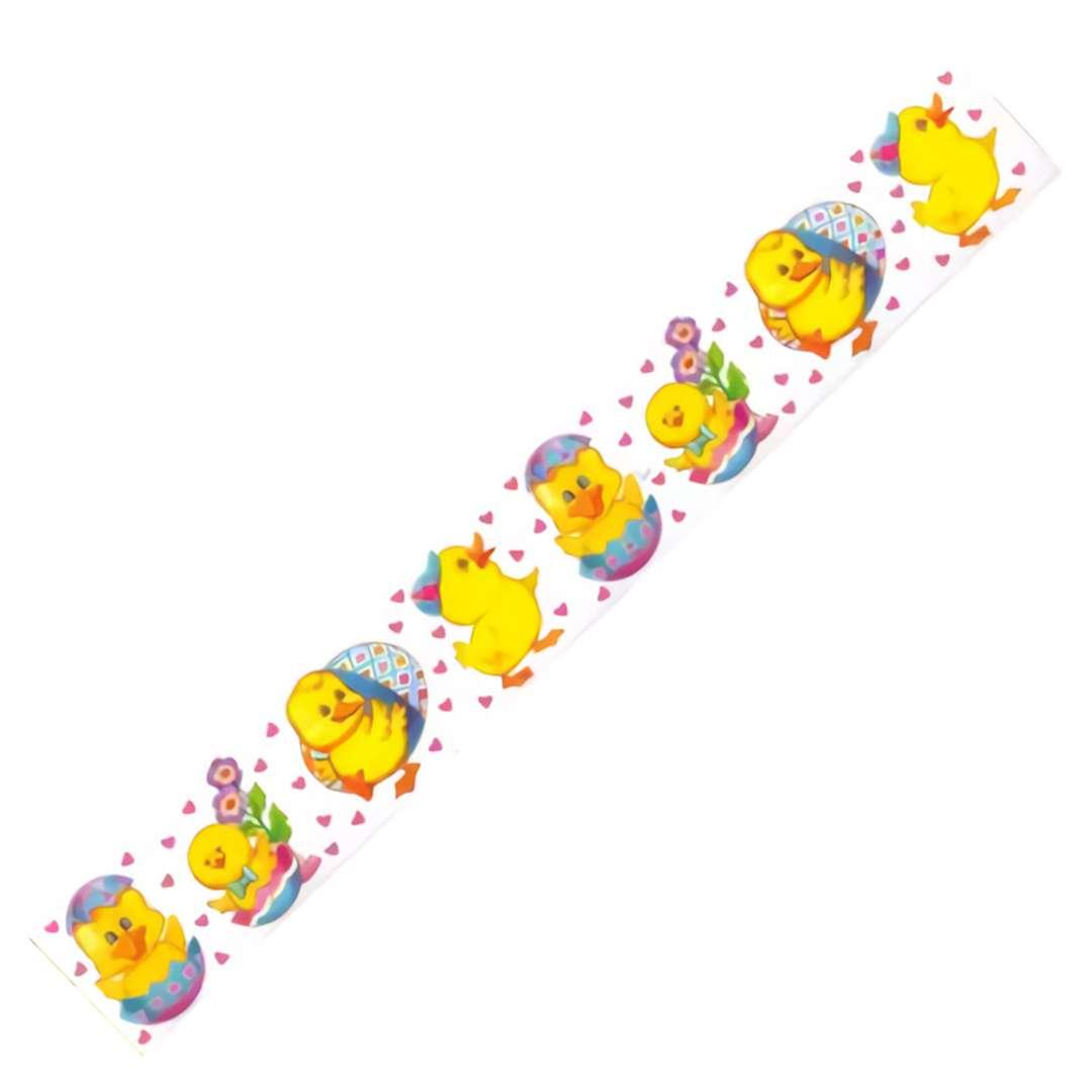"""Folia elektrostatyczna """"Wielkanoc - Kurczaczki"""", Arpex, 57 x 8 cm"""