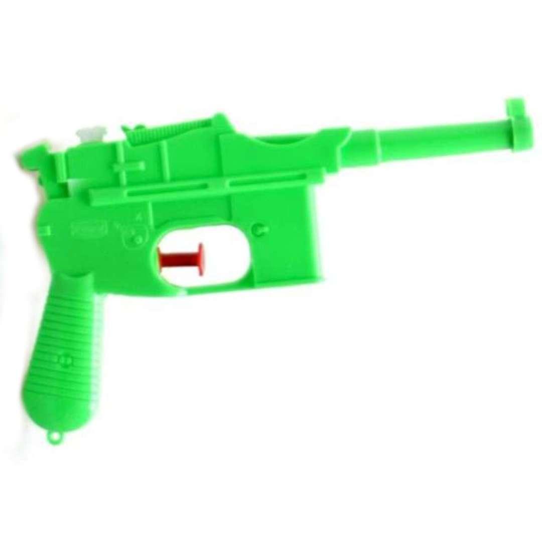 "Psikawka ""Niemiecki pistolet"", zielony, Arpex, 17cm"