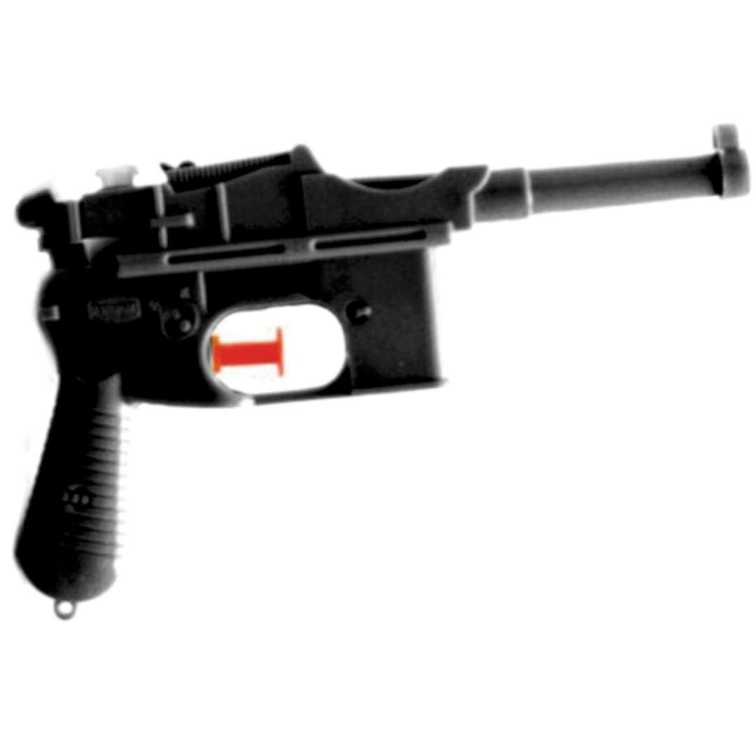 "Psikawka ""Niemiecki pistolet"", czarny, Arpex, 17cm"