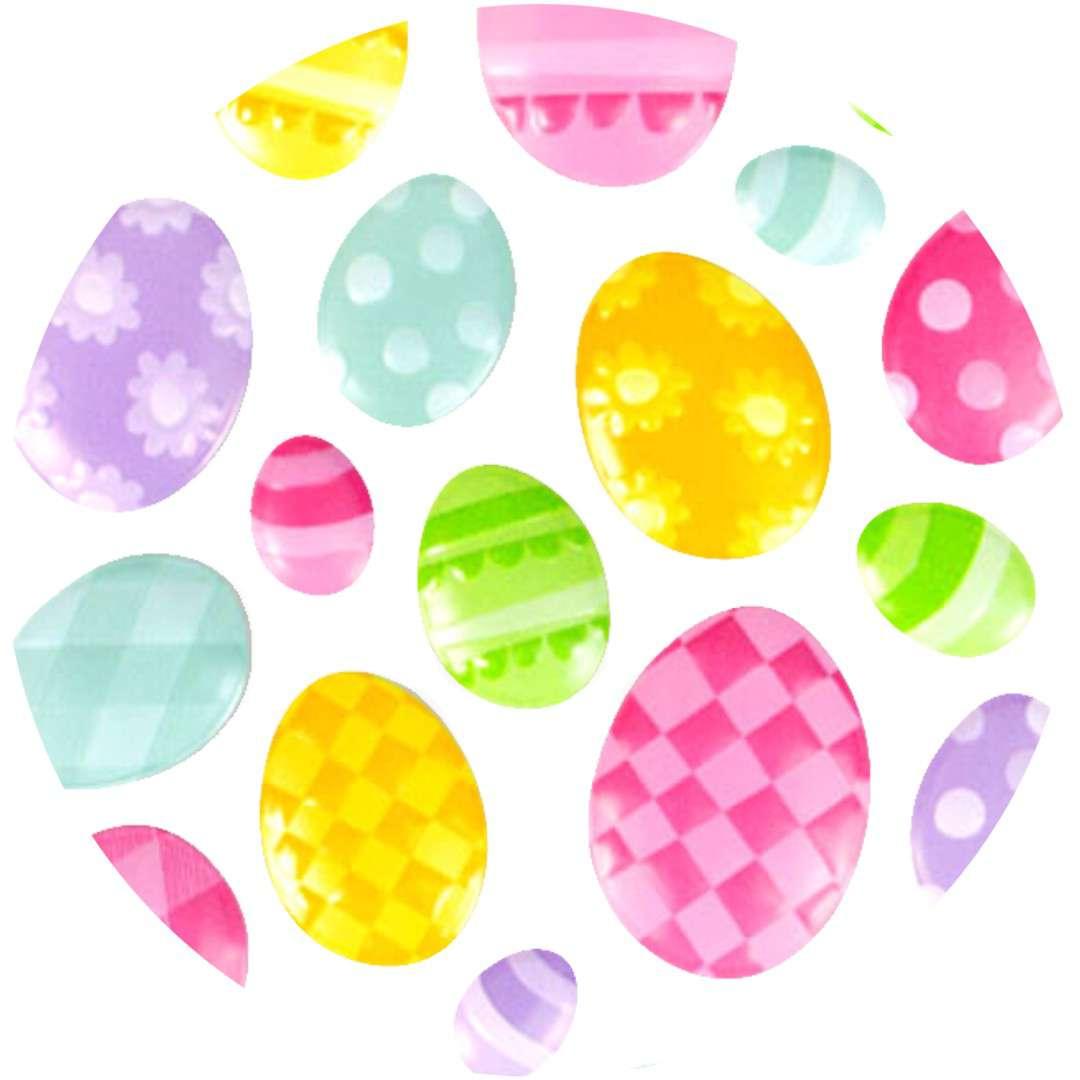 """Naklejki wypukłe """"Wielkanocne pisanki"""", Arpex"""