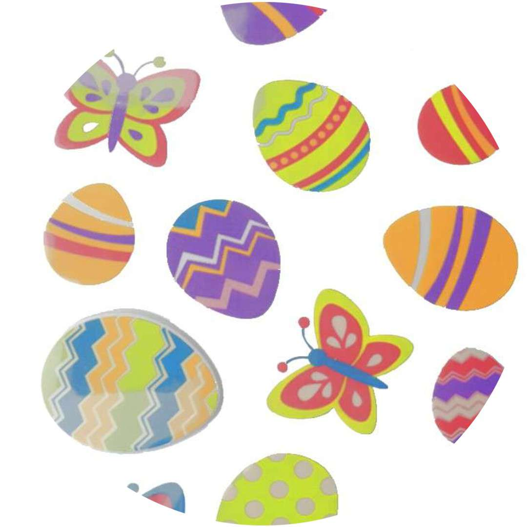 "Naklejki ""Wielkanocne jajka i motyle"", Arpex"