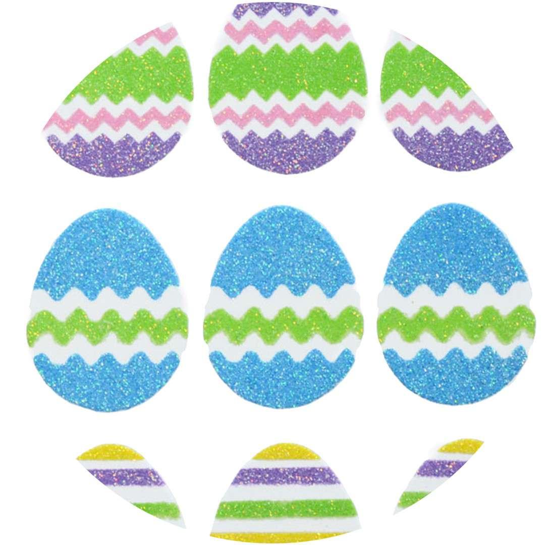 """Naklejki piankowe """"Wielkanocne jajka"""", Arpex"""
