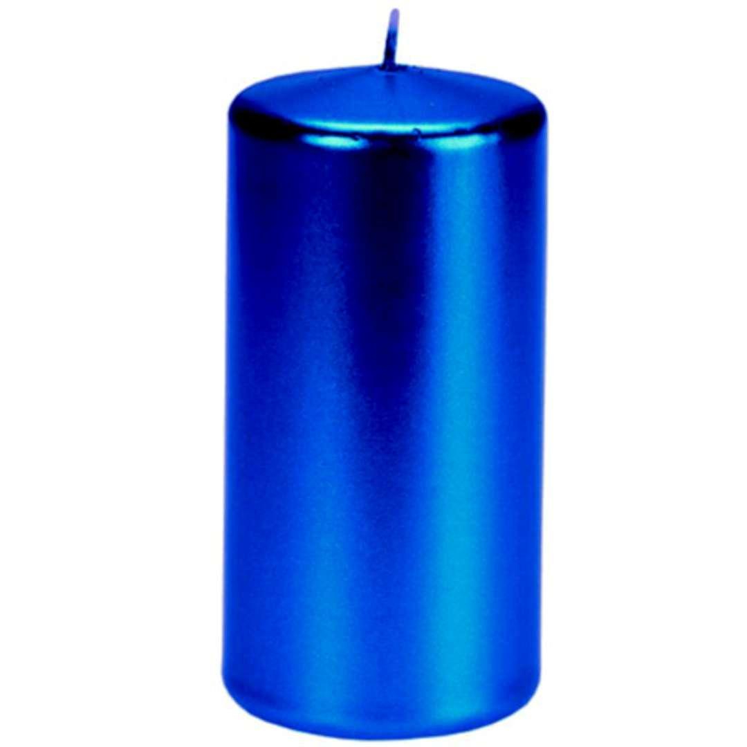 Świeca Pieńkowa metalik niebieska ciemna 120 mm Ravi