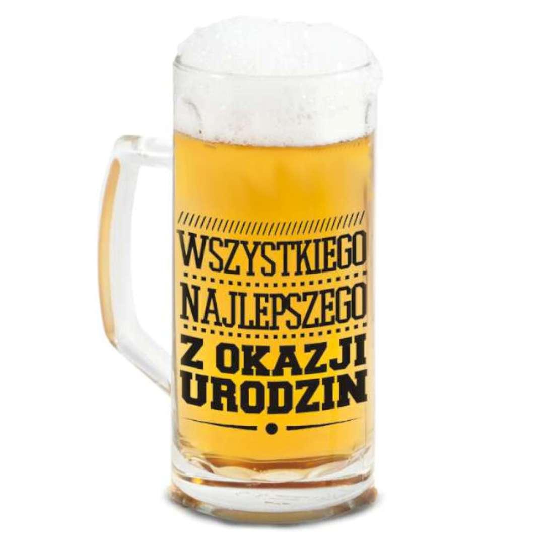 """Kufel """"Berna - Wszystkiego Najlepszego"""", BGTech, 500 ml"""