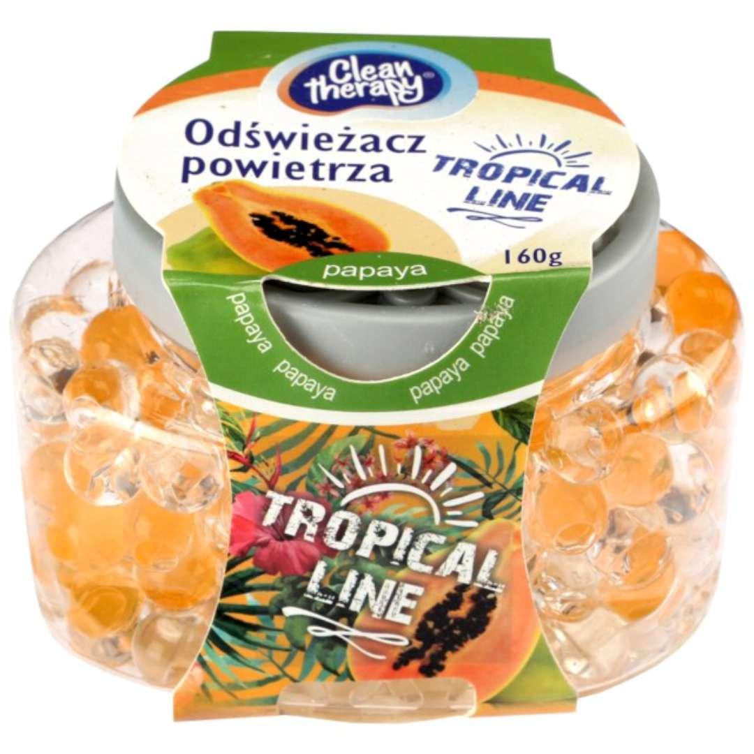 """Odświeżacz powietrza """"Tropical - Papaya"""", kulki, Ravi, 160 g"""