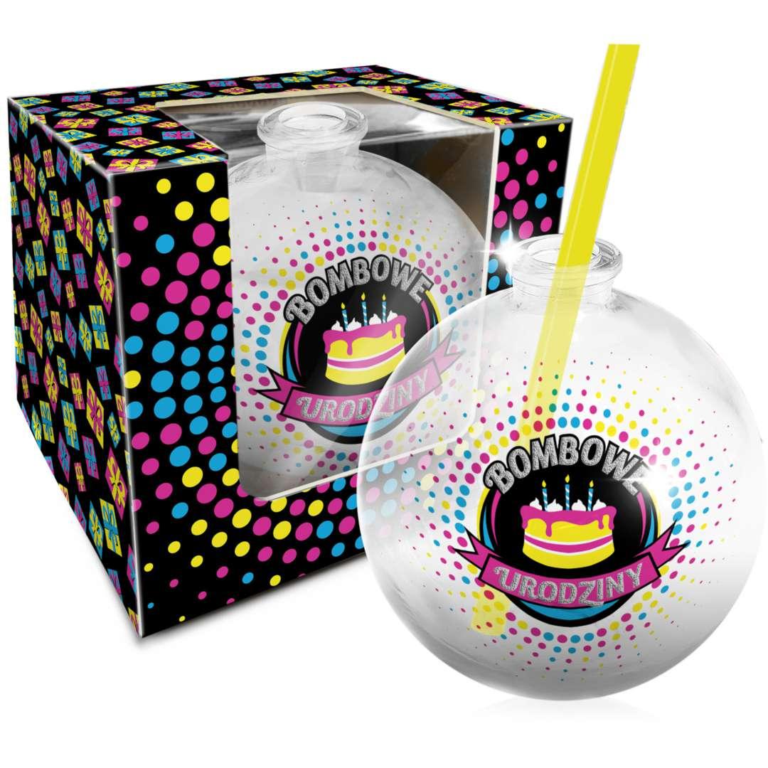 "Szklanka ""Bombka - Bombowe Urodziny"", BGtech, 400 ml"