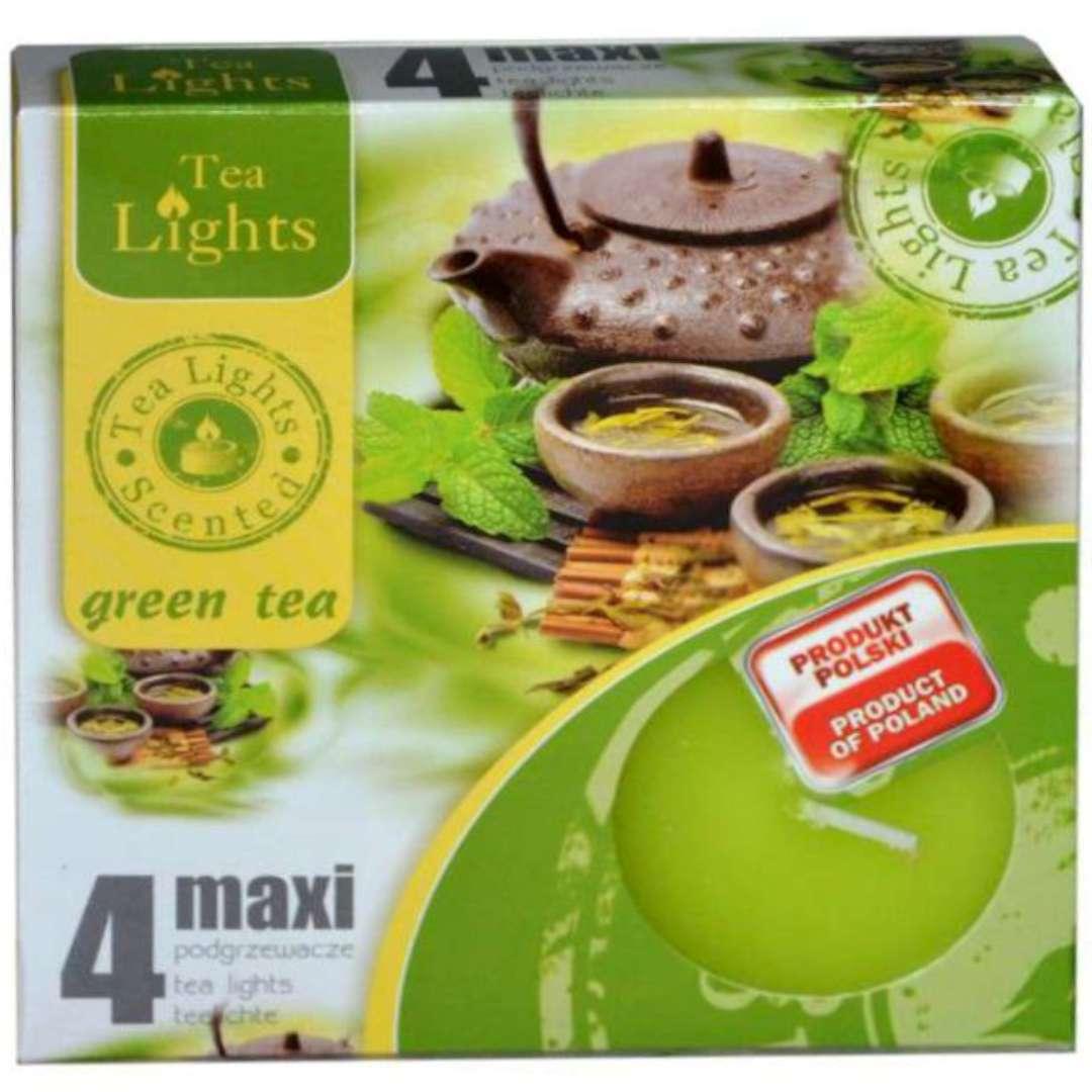 """Podgrzewacz zapachowy """"Maxi - Green Tea"""", Ravi, 4 szt"""
