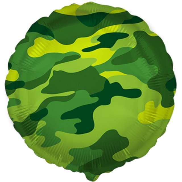 """Balon foliowy """"Moro"""", zielony, Flexmetal, 18"""" RND"""