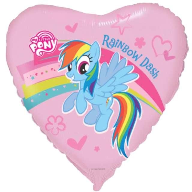 "Balon foliowy ""Rainbow Dash"", Flexmetal. 18"", HRT"