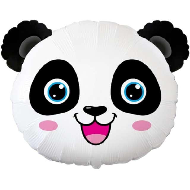 "Balon foliowy ""Wesoła Panda"", Flexmetal, 24"" SHP"