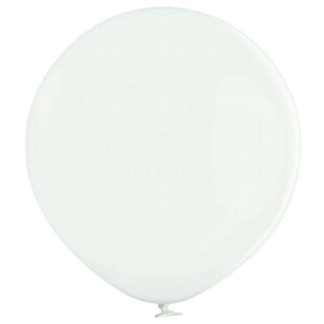 "Balon ""MEGA Pastel"", biały, 36"", BELBAL"