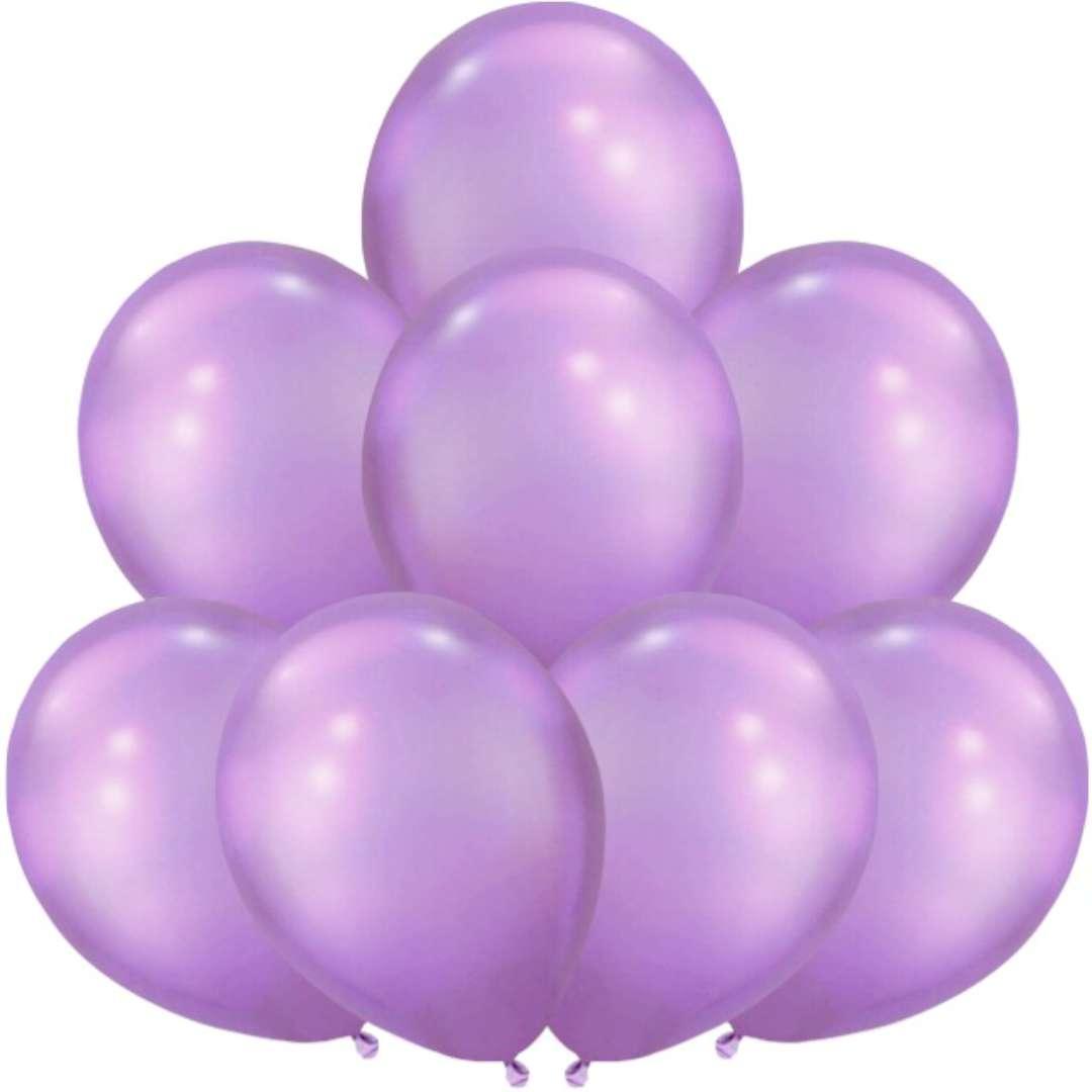 "Balony ""Glossy"", purpurowe, BELBAL, 12"", 8 szt"