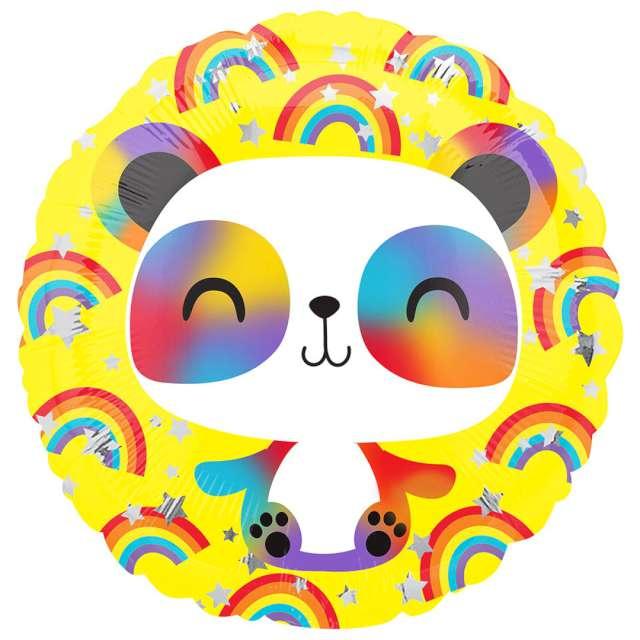 Balon foliowy Medytująca panda Amscan 17 RND